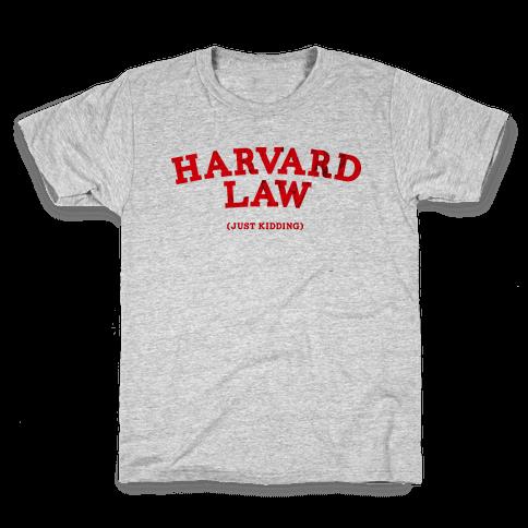 HARVARD LAW (VINTAGE) Kids T-Shirt