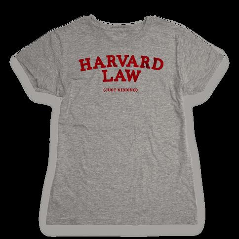HARVARD LAW (VINTAGE) Womens T-Shirt