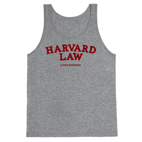 HARVARD LAW (VINTAGE) Tank Top