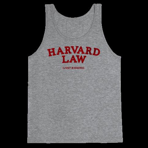 HARVARD LAW (VINTAGE) Tank Top
