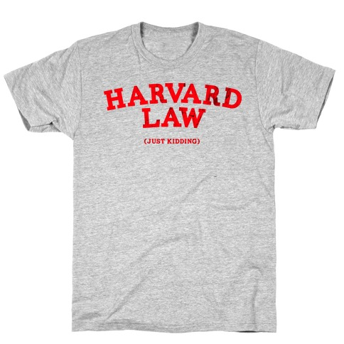 HARVARD LAW (VINTAGE) T-Shirt