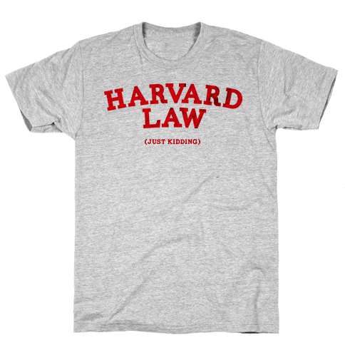 HARVARD LAW (VINTAGE) Mens T-Shirt