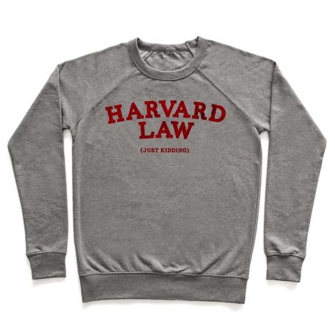f94ca8e0 HARVARD LAW (VINTAGE) Crewneck Sweatshirt | LookHUMAN