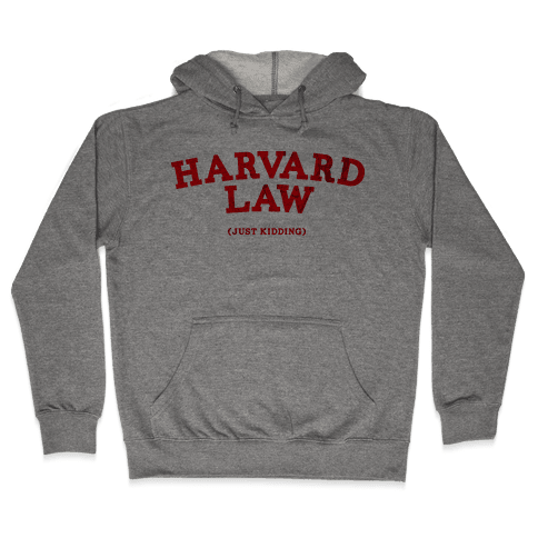 HARVARD LAW (VINTAGE) Hooded Sweatshirt