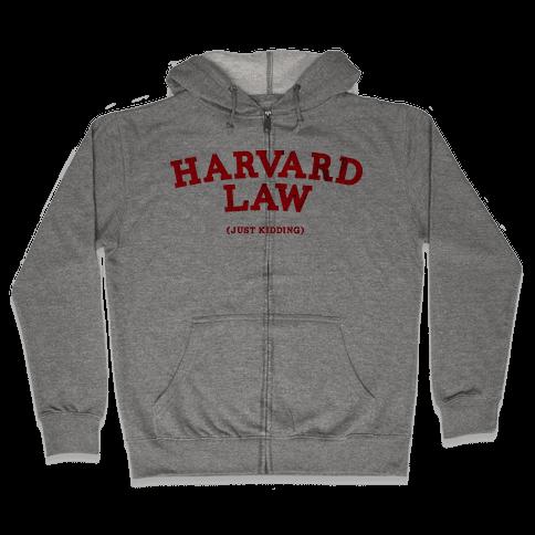 HARVARD LAW (VINTAGE) Zip Hoodie