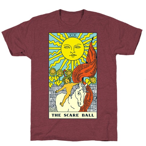 The Scare Ball Tarot T-Shirt