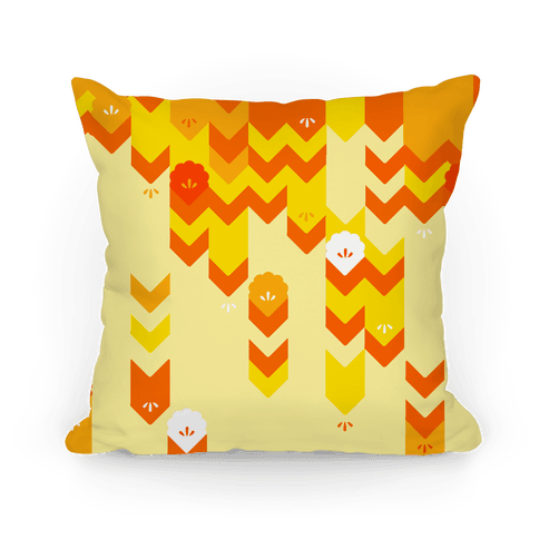 Summer Sweater Pattern Pillow