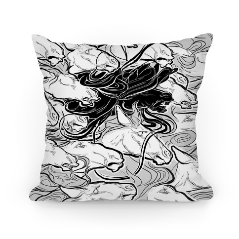 Dark Horse Pillow