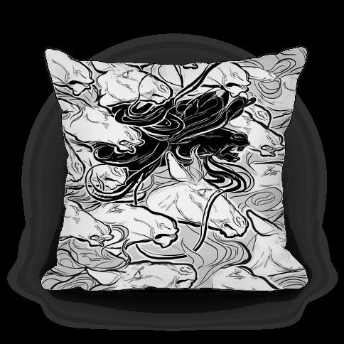 Dark Horse Pillow