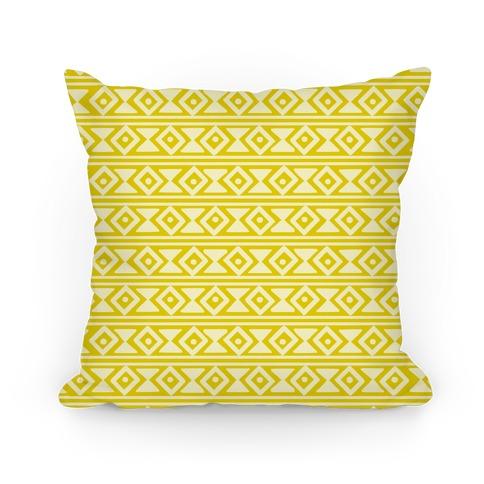 Tribal Pattern Pillow