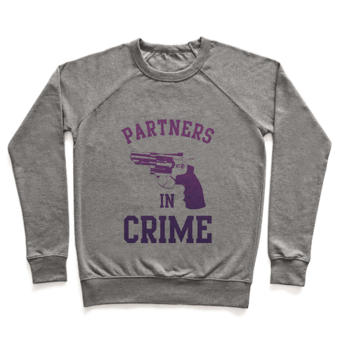 Partners in Crime (Purple) Pullover