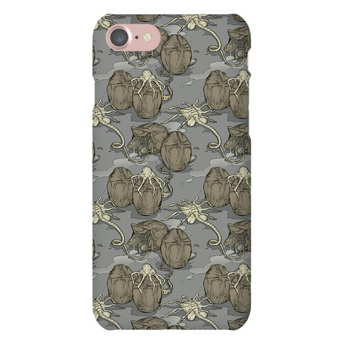 Face Hugger Pattern Phone Case