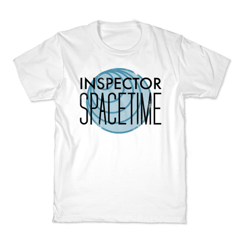 Inspector Spacetime Kids T-Shirt