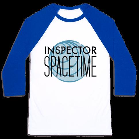 Inspector Spacetime Baseball Tee