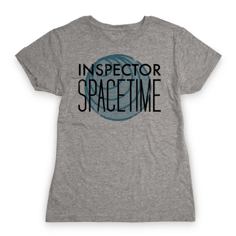 Inspector Spacetime Womens T-Shirt
