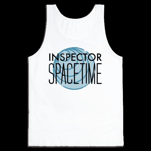 Inspector Spacetime Tank Top