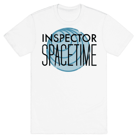 Inspector Spacetime Mens T-Shirt
