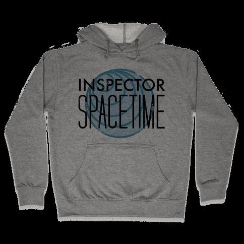 Inspector Spacetime Hooded Sweatshirt