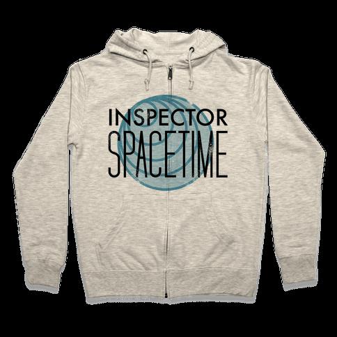 Inspector Spacetime Zip Hoodie