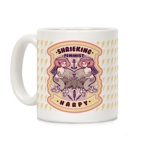 Shrieking Feminist Harpy Coffee Mug