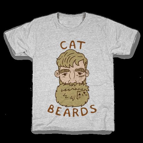 Blonde Cat Beards Kids T-Shirt