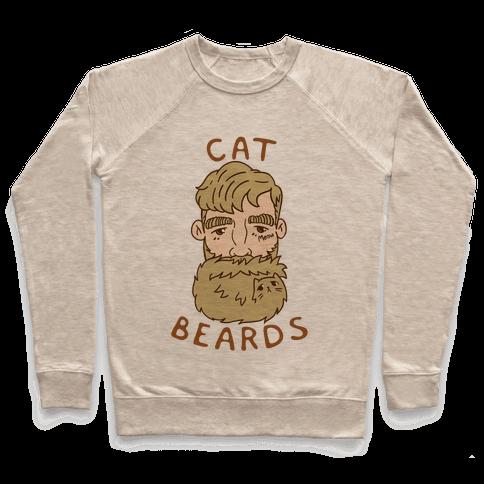 Blonde Cat Beards Pullover