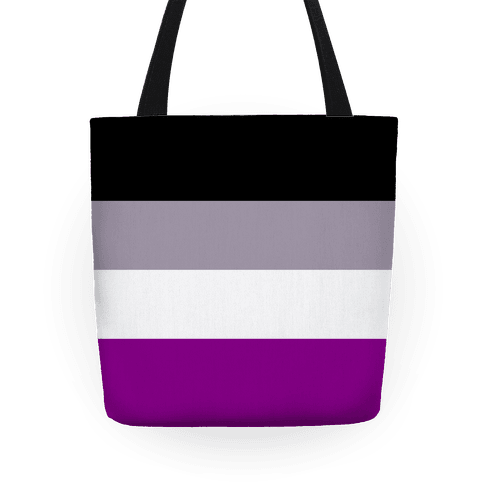 Asexual Pride Flag Tote