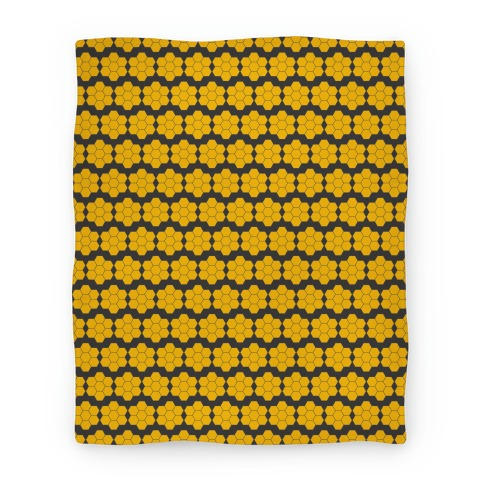 Honey Comb Pattern Blanket