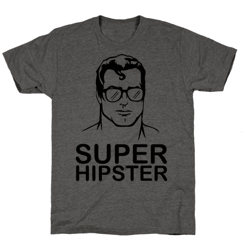 Super Hipster Mens T-Shirt