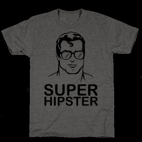 Super Hipster Mens T-Shirt