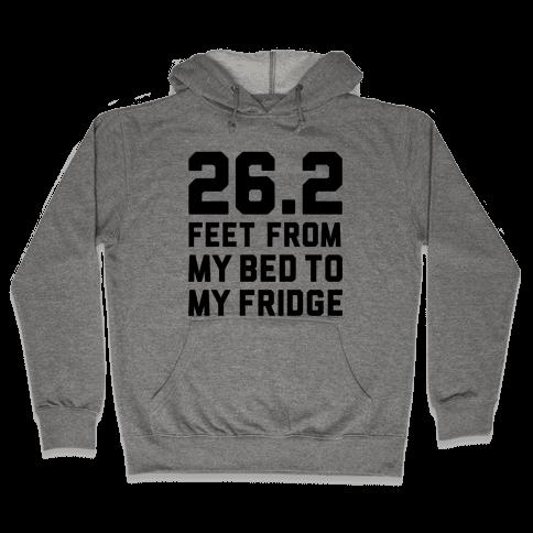 Bed To Fridge Hooded Sweatshirt