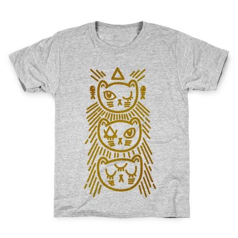 Occult Kitties Kids T-Shirt