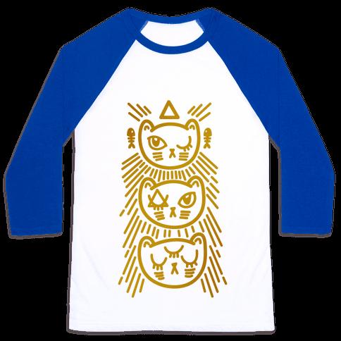Occult Kitties Baseball Tee