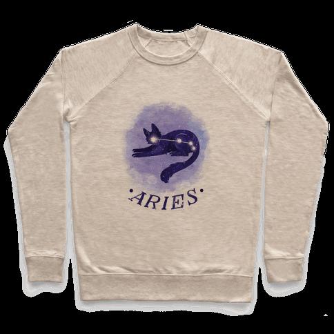 Cat Zodiac: Aries Pullover