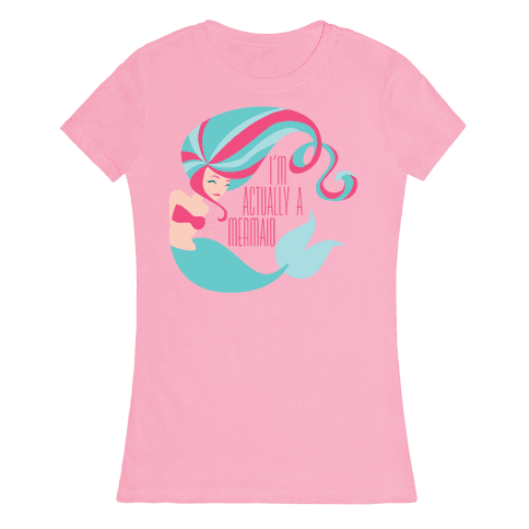 Mermaid Womens T-Shirt