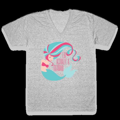 Mermaid V-Neck Tee Shirt