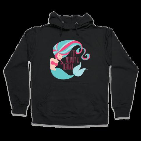 Mermaid Hooded Sweatshirt