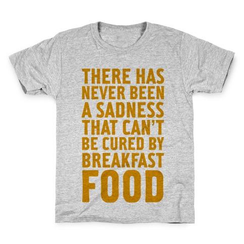 Breakfast Food Kids T-Shirt