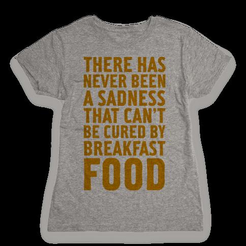 Breakfast Food Womens T-Shirt