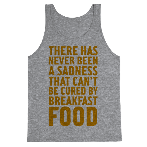 Breakfast Food Tank Top