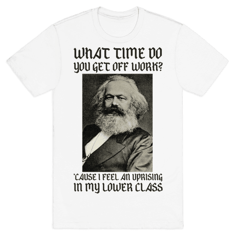 Marx Pick Up Line Mens T-Shirt