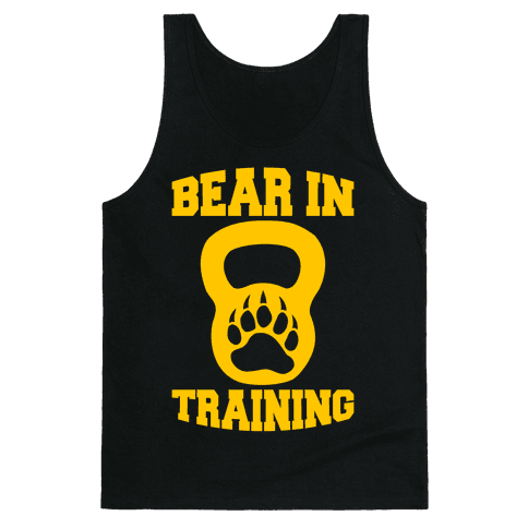 Bear In Training Tank Top