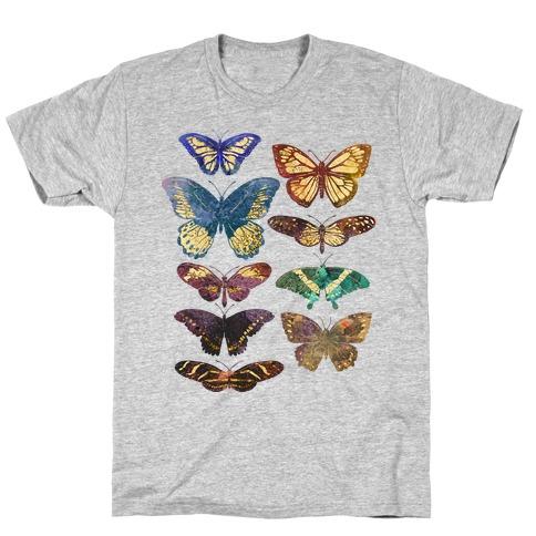 Butterfly Species T-Shirt