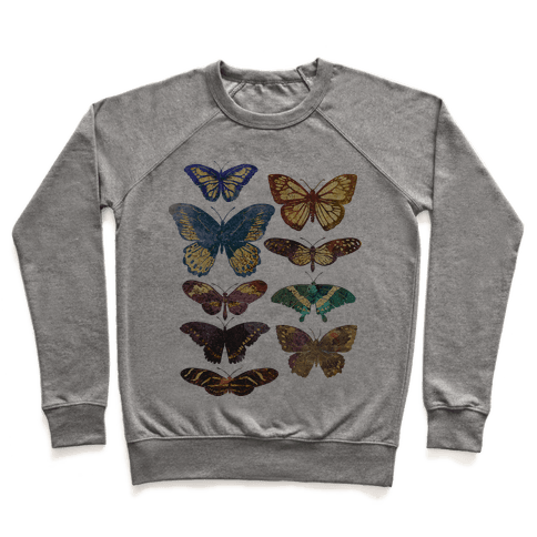 Butterfly Species Pullover