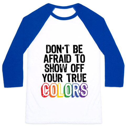 Colors Baseball Tee