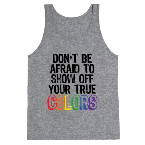 Colors Tank Top