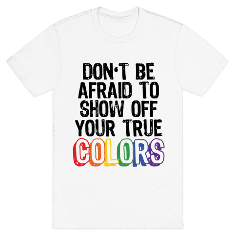 Colors Mens T-Shirt