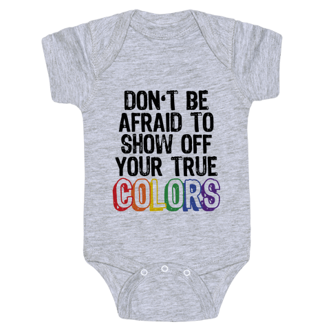 Colors Baby Onesy