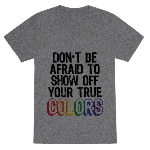 Colors V-Neck Tee Shirt