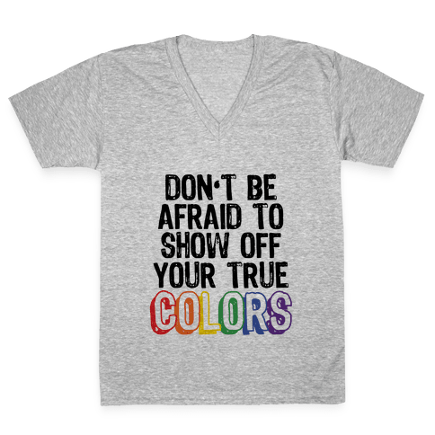 Colors V-Neck Tee Shirt